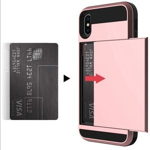 Accessories - iPhone Xs Max Case with hidden credit card slot
